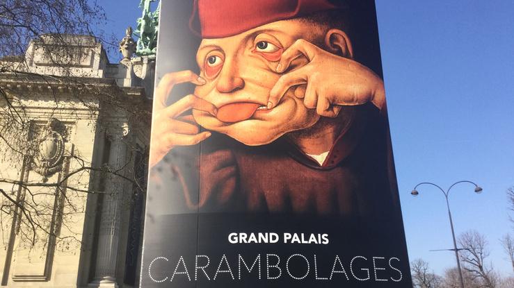 Vue de l'exposition Carambolages, Galeries nationales du Grand Palais, 2016