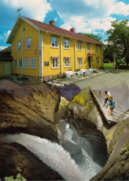 Pierre ardouvin collage maison jaune medium