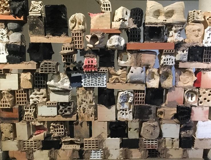 Miquel Barceló, vue d'exposition au Musee Picasso, 2016