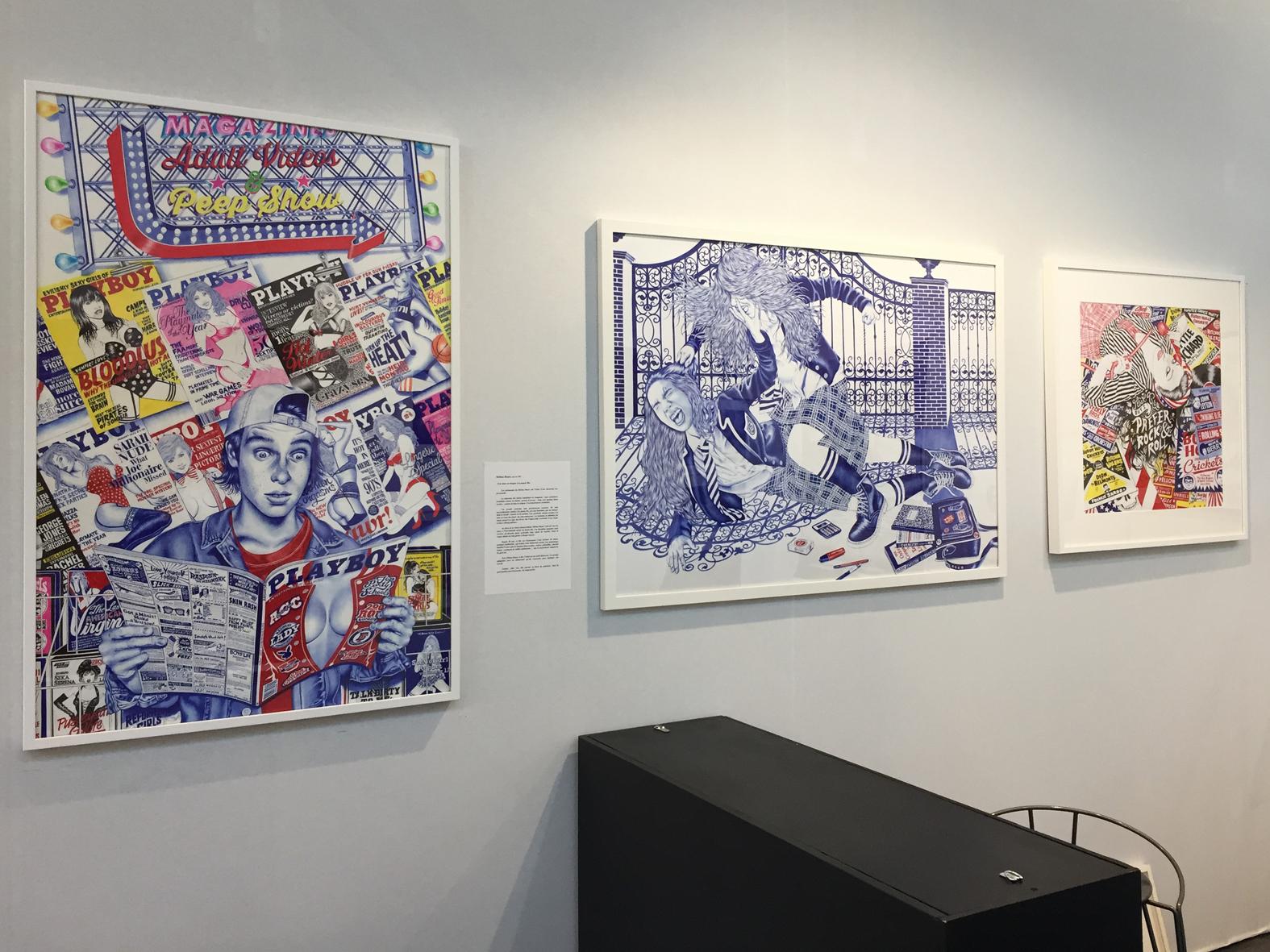 Galerie metropolis drawing 2016 hh original