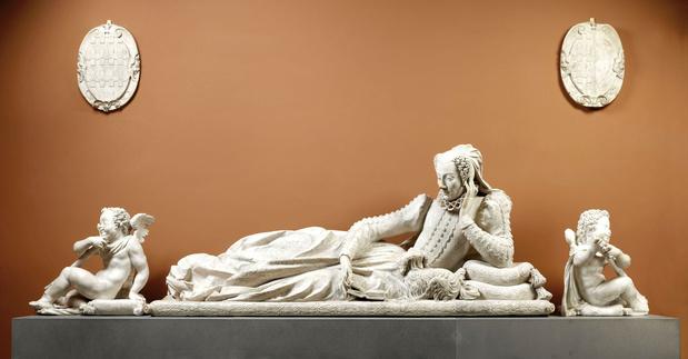 Germain pilon  tombeau de valentine balbiani musee louvre alexandre lenoir medium