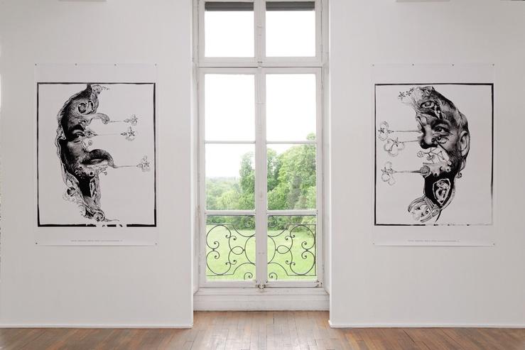 M/M, The Punctuation Series, vue de l'exposition Ne te retourne pas, MABA Nogent-sur-Marne, 19 mai—24 juillet 2016