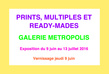 Galerie metropolis prints carton verso tiny