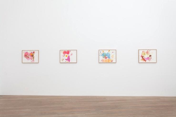 Vue de l'exposition Mika Rottenberg à la galerie Laurent Godin