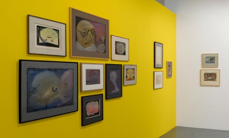 Vue de l'exposition Eugen Gabritschevsky à la maison rouge