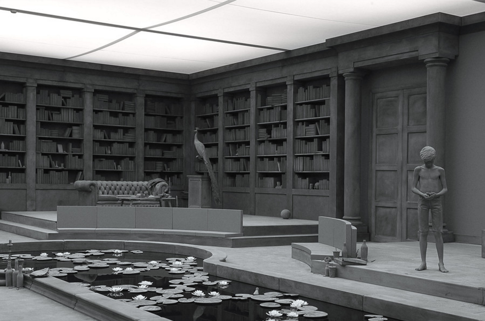Hans op de beeck the collector s house2 original