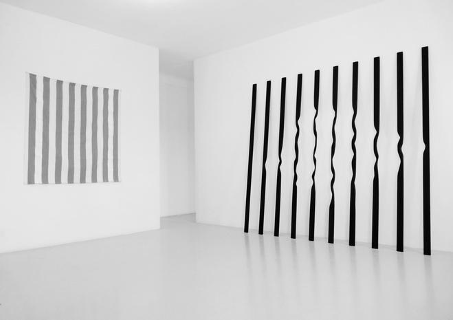 Vue de l'exposition «Filiations», EAC—Espace de l'Art Concret, Mouans-Sartoux