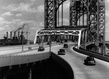 Tri borough bridge east 125th street approach  manhattan  june 29  1937 grid