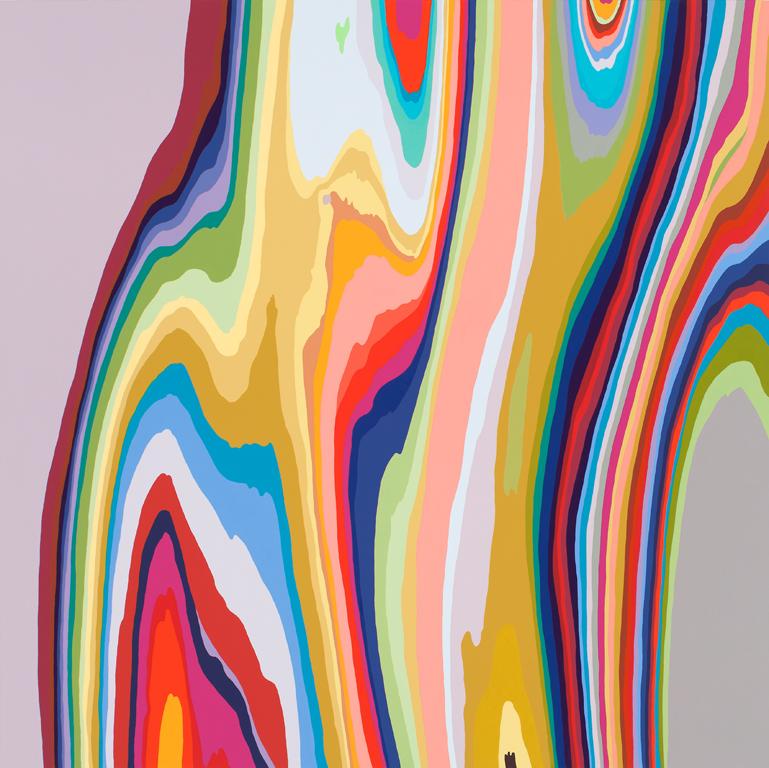 Beth reisman  tmi acrylic on panel  2013 original