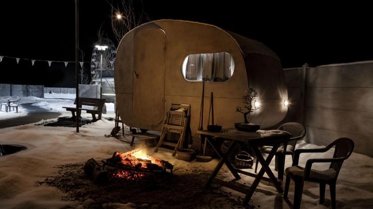 Hans Op de Beeck, Caravane, 2015—Installation sculpturale