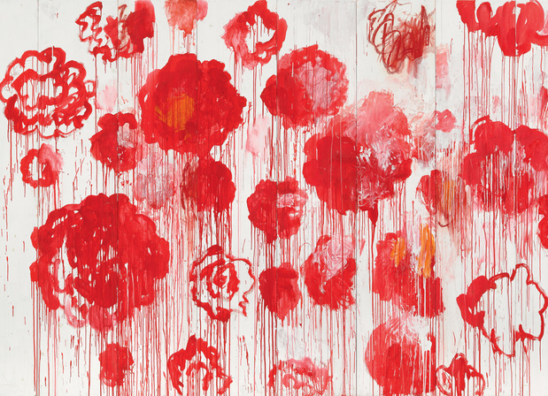 Twombly blooming centre pompidou medium