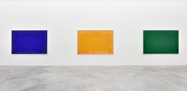 Bertrand lavier galerie almine rech paris medium
