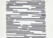 Vera molnar lignes interrompues encre sur papier 25 x 21 cm 1972 grid