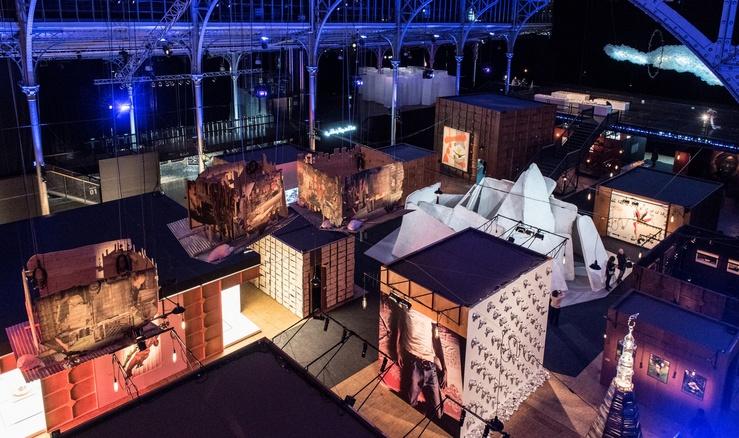 Afriques Capitales, Vue de l'exposition à La Villette, 2017