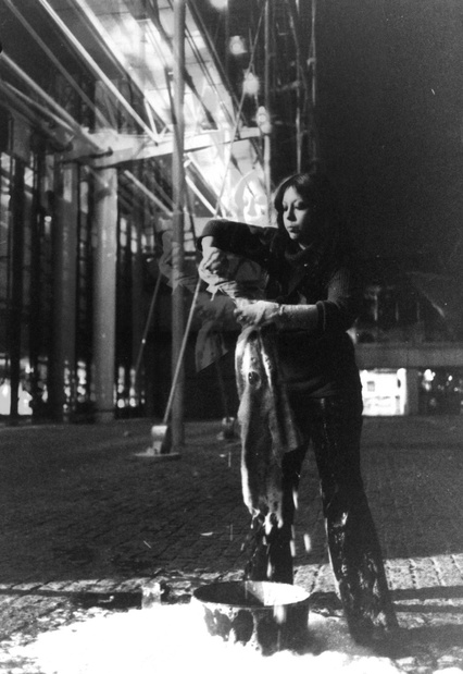 Soixantedixsept experiment cpif centre pompidou orlan mesurage beaubourg 1977 medium