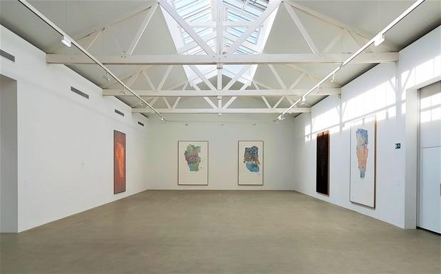 Baselitz georg descent thaddaeus ropac galerie paris 2017 3 medium