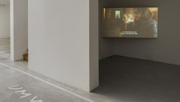 Dora Garcia, Écrits, Vue de l'exposition à la galerie Michel Rein, Paris