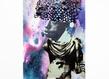 Raphael barontini le maure 2017 220x157cm impression et serigraphie sur tissu courtesy the artist original grid