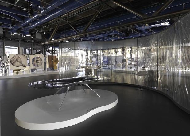Ross Lovegrove Convergence Centre Georges Pompidou Exhibition Slash Paris