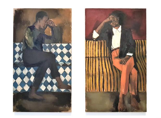 Art afrique fondation louis vuitton paris lynette yiadom boakye original medium