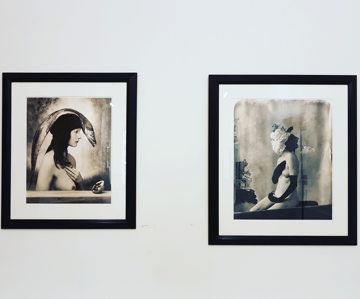 Joel-Peter Witkin, vue de l'exposition The Soul has no Gender, galerie Baudoin Lebon