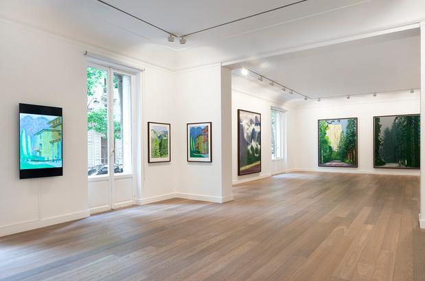 Expo david hockney galerie lelong vue 4 medium