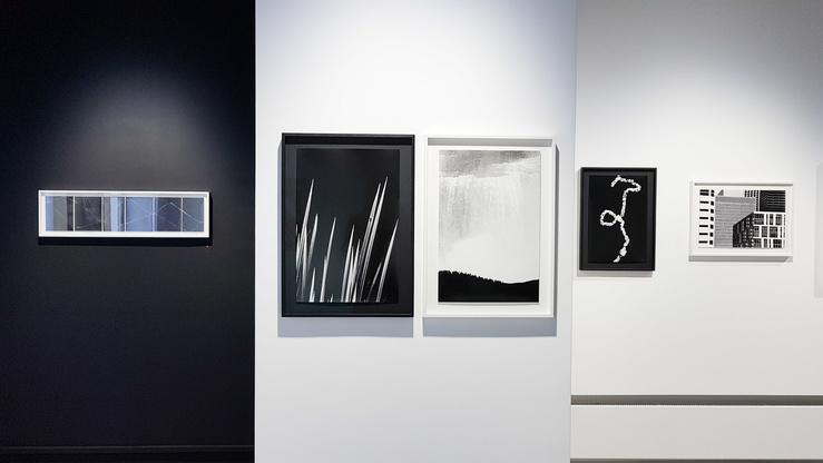 Renato D'Agostin, vue de l'exposition 7439, galerie Thierry Bigaignon, 2017