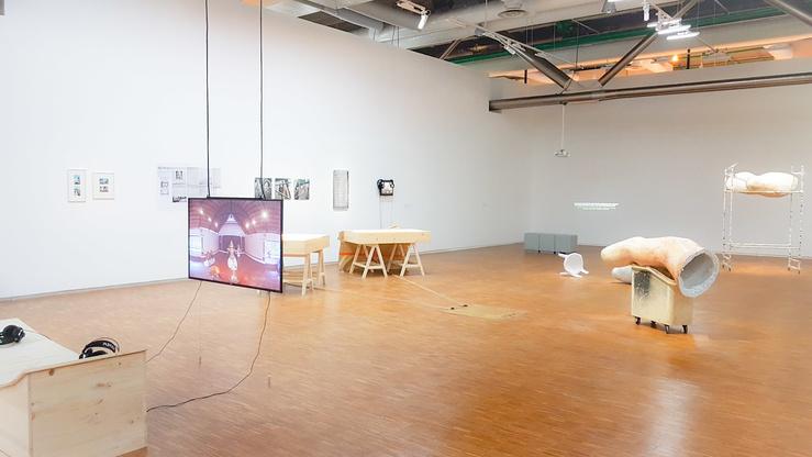 Anarchéologie au Centre Pompidou, vue de l'exposition