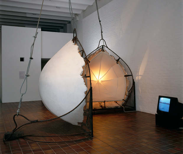 Vito acconci adjustable wall bra 1990   1991 collection du frac nord pas de calais medium
