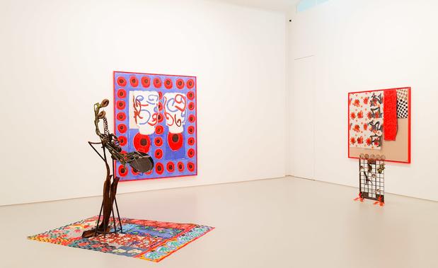 Ida ekblad galerie max hetzler paris exposition 2 medium
