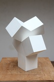 4 norman%20dilworth v 2013 wood%20painted%20white 30x22x22cm tiny