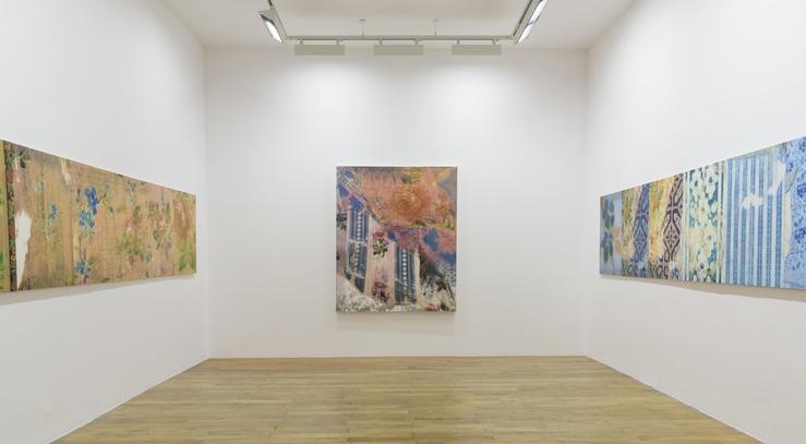 Gabriel Orozco—Vue de l'exposition à la galerie Chantal Crousel, Paris