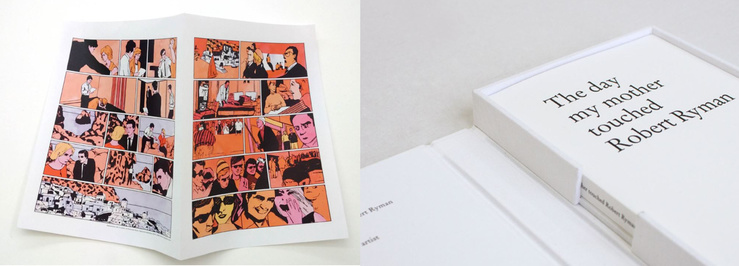 Francesc Ruiz, Fahrenheit 451's Comic et Stefan Sulzer, The Day My Mother Touched Robert Ryman