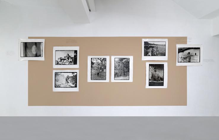 Marcos Avila Forero, Les choses qui échappent, vue de l'exposition à la galerie Dohyang Lee, Paris
