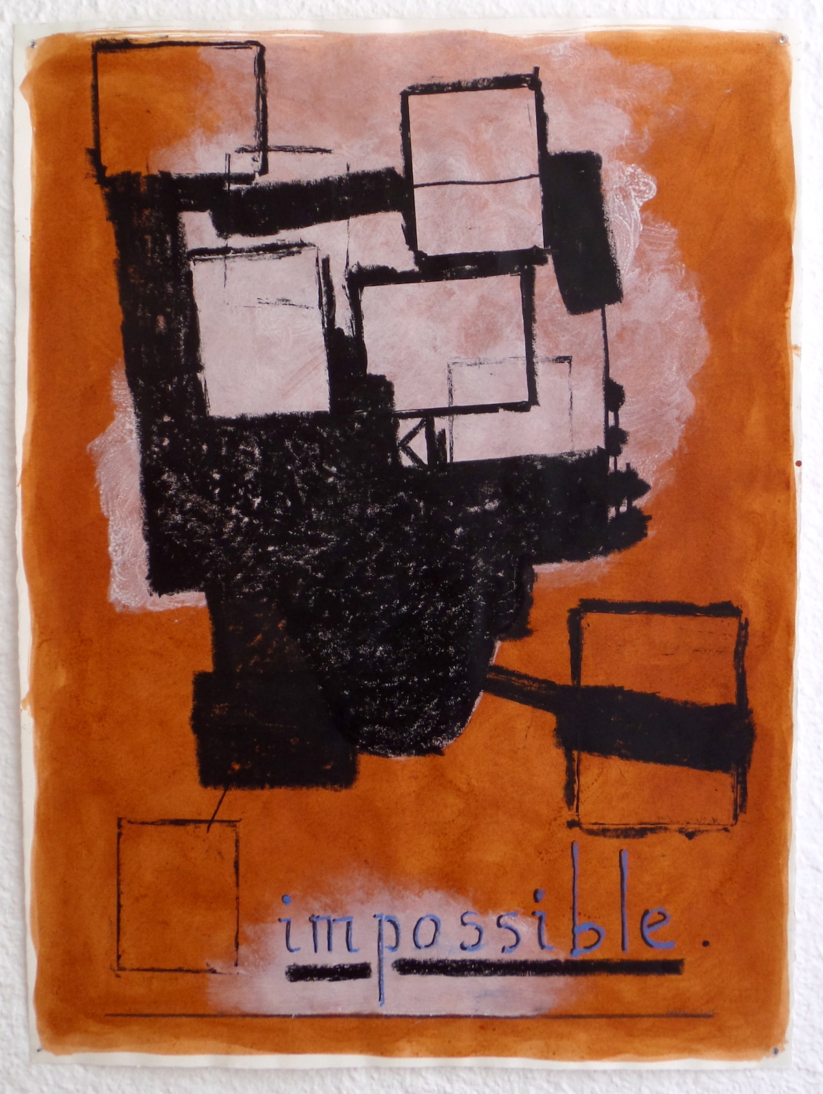 Galerie oniris rennes jean michel alberola impossible ii 2016 original