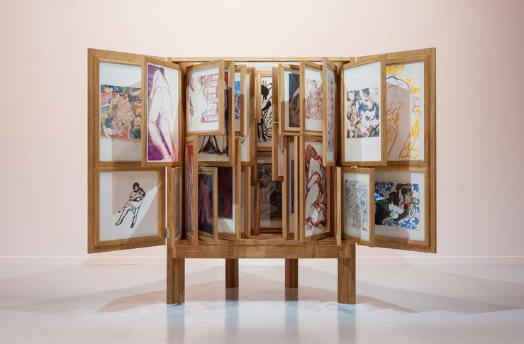 Alex Cecchetti, Tamam Shud : Erotic Cabinet, 2017