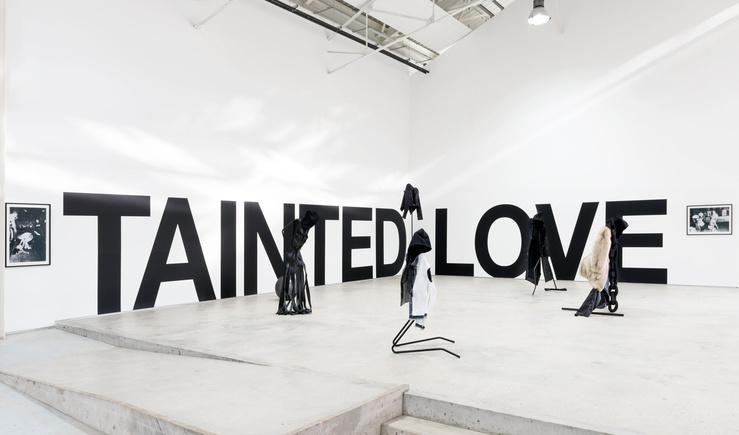Vue de l'exposition Tainted Love au Confort Moderne, Poitiers
