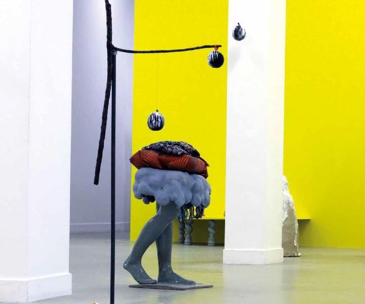 Gabrielle Wambaugh, vue de l'exposition Ambivalente, 2018