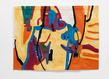 Etel adnan galerie lelong tapisserie 4 grid