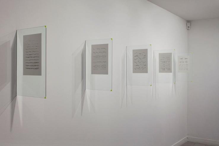 Vue de l'exposition Hypnorama, Violaine Lochu, CACC, 2018
