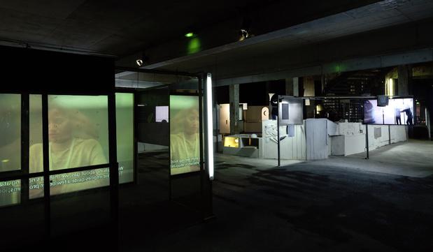 Neil beloufa vue de lexposition monographique les inoubliables prises d autonomie saison imaginez l imaginaire palais de tokyo 1 medium