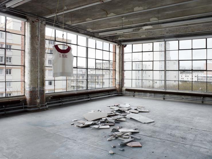 Louise Hervé & Chloé Maillet, vue de l'exposition L'Iguane, Centre d'art contemporain d'Ivry—le Crédac, 2018