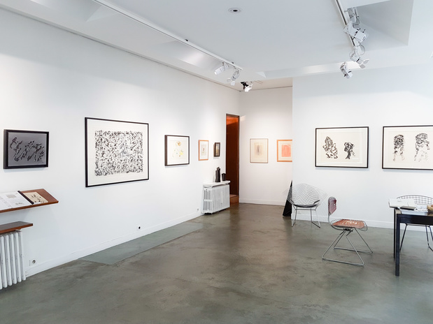 Henri michaux exposition paris galerie berthet aittouares 13 1 medium