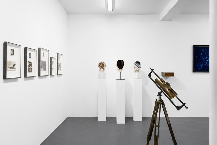 Gabriel Leger, vue de l'exposition Vertigo à la galerie Sator, Paris, 2018