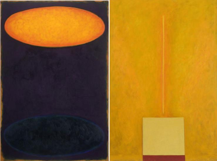 Miloslav Moucha, deux œuvres issues du Cycle de Bereshit (1992-2015)