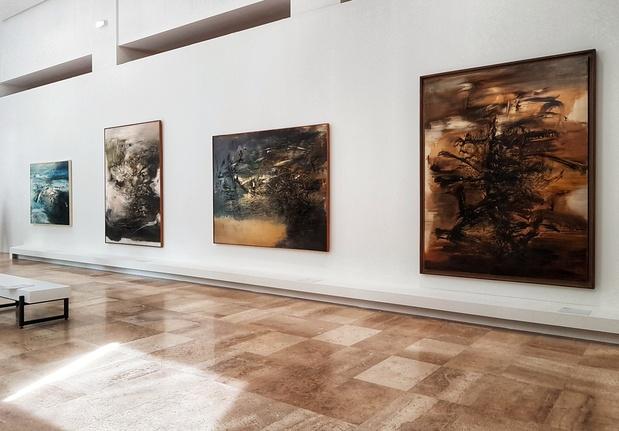 Zao wou ki musee art moderne exposition paris mnam 1 1 medium