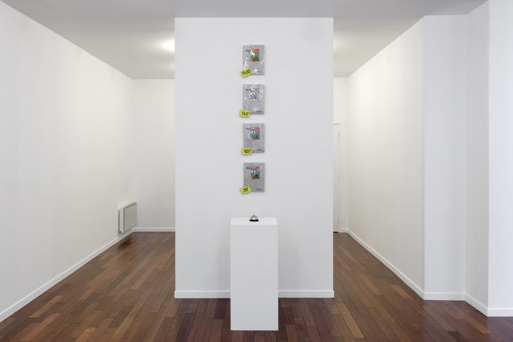 Vue de l'exposition NégoPif à la galerie mfc-michèle didier, Paris, 2018