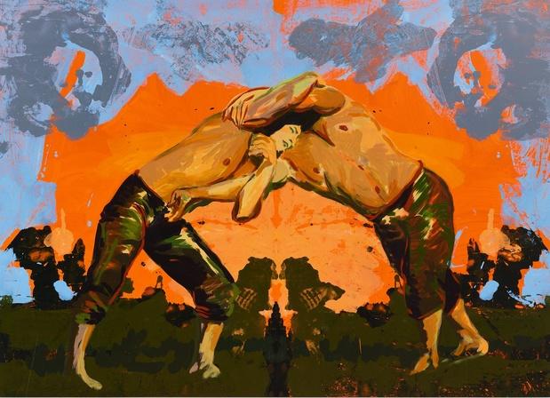 Claire tabouret exposition galerie almine rech 12 1 medium