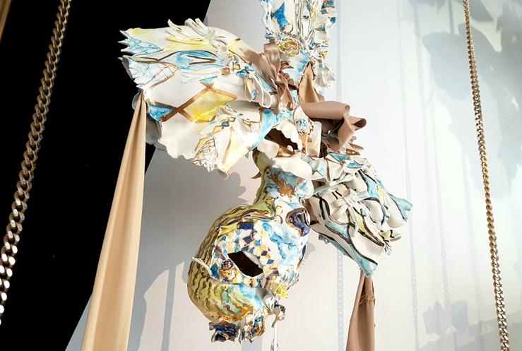 Lucile Littot, Vue de l'exposition Le Vingtième Prix de la fondation d'entreprise Ricard, 2018