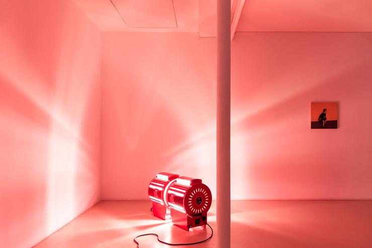Vue de l'exposition Affinité(s), galerie Jousse Entreprise, Paris, 2018